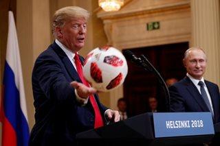 Global stocks mixed as Trump and Putin meet; oil falls