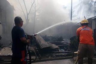 Fire guts 4 houses in Iligan