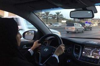 Kauna-unahang Pinay driver sa Saudi Arabia, sumabak sa daan