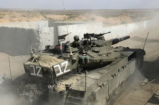 Israeli army unveils new 'smart' tank