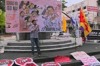 SONA ni Duterte, sinalubong ng protesta sa ilang bahagi ng bansa