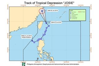 Habagat rains to persist as Josie leaves; new storm brews