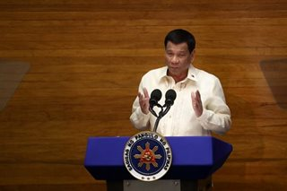 Duterte: I won't stay in office a day longer than term