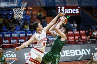 NCAA: Bolick, San Beda put brakes on CSB hype train