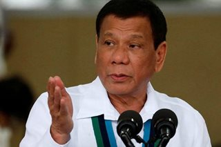 Don't force Iran to go to war: Duterte
