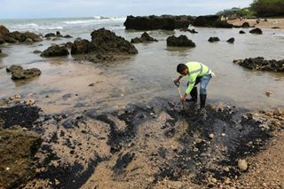 Coal spill in La Union