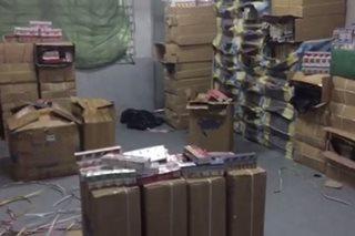 P55 milyon halaga ng mga pekeng produkto nasabat sa Tondo