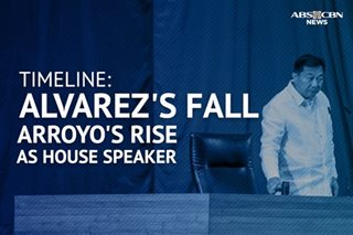 TIMELINE: The fall of House Speaker Alvarez, and some reasons behind it