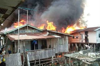 Jolo inferno engulfs 3,500 homes