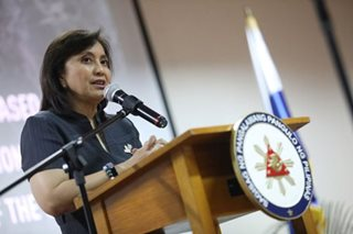 Robredo keeps 'good' satisfaction rating: SWS
