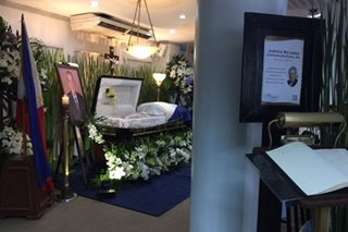DOJ holds necrological rites for ex-Justice Ricardo Puno Sr.