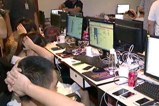 31 dayuhan na sangkot sa 'phishing', tiklo sa Ayala Alabang