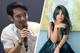 Osric Chau clarifies casting Jasmine Curtis-Smith in his movie
