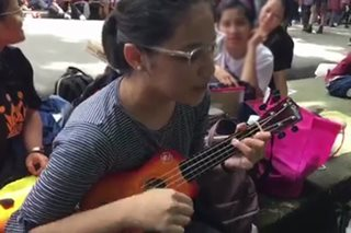 Teen endures 16-hour long UPCAT line with friends, music