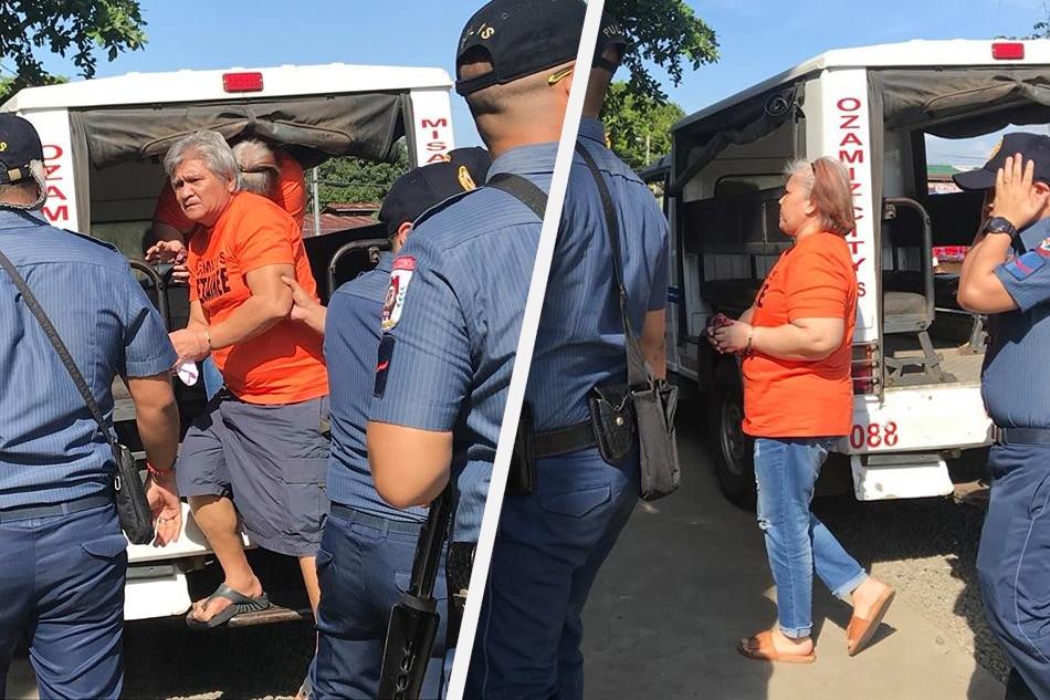Arrested Parojinog kin arrive in Ozamiz 1