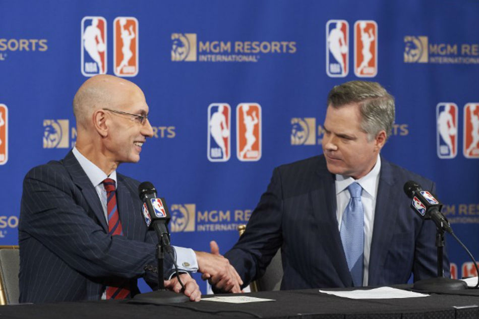 National Basketball Association  first league with betting sponsor, has deal with MGM