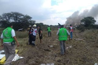 'I feel blessed' - No deaths in Mexico passenger jet crash