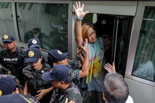QC court defers hearing on De Lima's 'disobedience' case