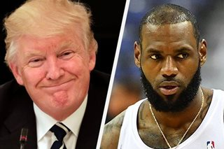Trump hits back at LeBron James over racial division comments