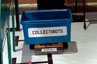 Mga robot, katuwang sa pangangasiwa ng basura