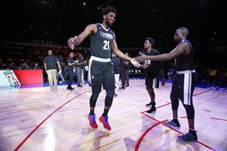 Cameroon's Embiid shines but Team World claim NBA Africa Game