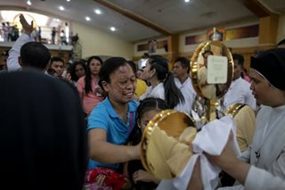 IN PHOTOS: Padre Pio's relics visit Caloocan church