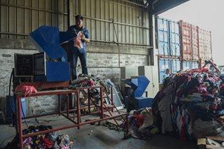 Customs destroys seized goods