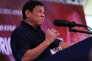 Duterte warns erring cops: 'Papatayin ko talaga kayo'