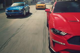 Ford celebrates 10 millionth Mustang while banking on car's draw