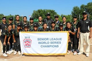 Tanauan LL grabs 2018 Senior League Softball World Series Championship