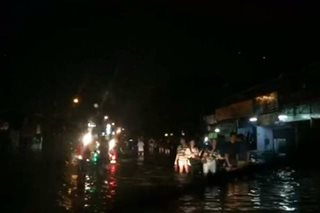 WATCH: Floods hit parts of Quezon City, Rizal
