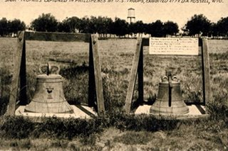 'Huwag paasa': Solons urge US to return Balangiga bells