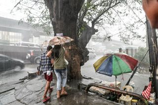 Habagat rains to persist until Wednesday: PAGASA