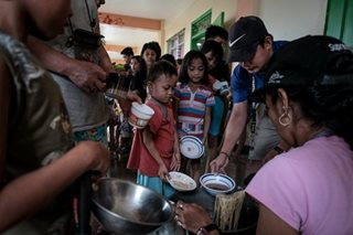 Thousands in evacuation centers