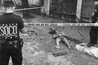 Man's body found in Marikina street after floods