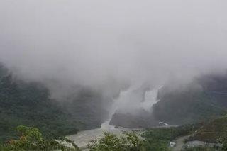 San Roque Dam releases water