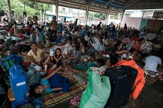 Ayuda, pinarating sa evacuees sa San Mateo, Rizal