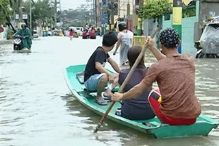 Ilang lugar sa Luzon, patuloy na binabaha