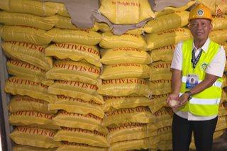 Higit P170 milyong halaga ng 'smuggled rice,' nasamsam