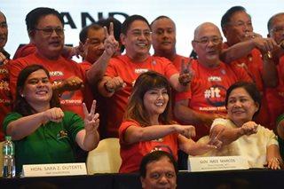 PDP-Laban faction open to alliance with Sara Duterte's Hugpong