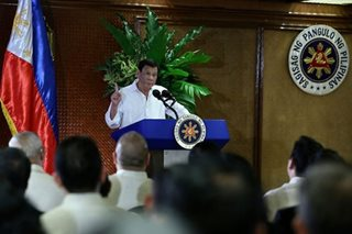 Duterte giving Congress a chance on budget