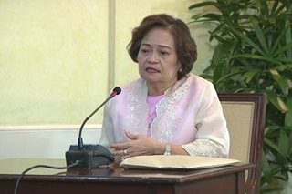 WATCH: De Castro vies for chief justice post