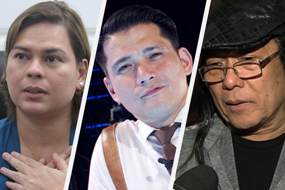 Sara Duterte, Robin Padilla, Freddie Aguilar among PDP-Laban's 2019 senatorial bets 1