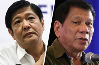 Palace: Duterte might step down if Bongbong Marcos wins protest