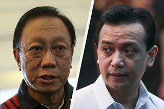 Calida forgives, won't sue Trillanes