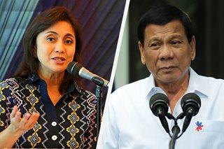 Robredo camp fires back at Duterte on Naga drugs issue