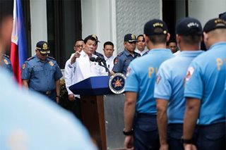 CHR slams Duterte bounty vs 'ninja' cops