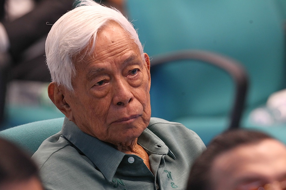 PH mourns democracy icon Nene Pimentel - ABS-CBN News