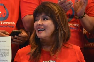 Imee Marcos says likely to run for senator in 2019