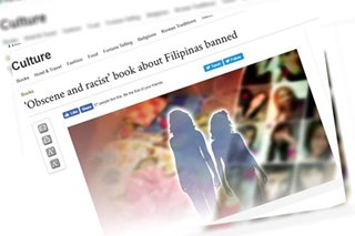 Book about Filipino women taken offline in Korea